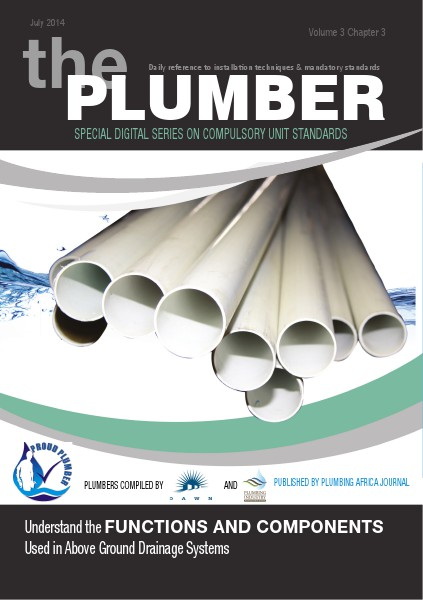 The Plumber ABOVE GROUND DRAINAGE Vol 3.3