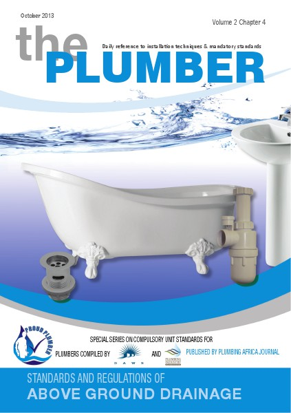 The Plumber ABOVE GROUND DRAINAGE Vol 2.4