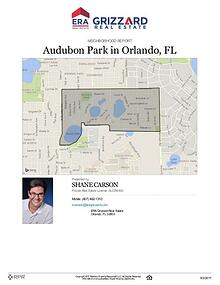 Audubon Park Neighborhood Report