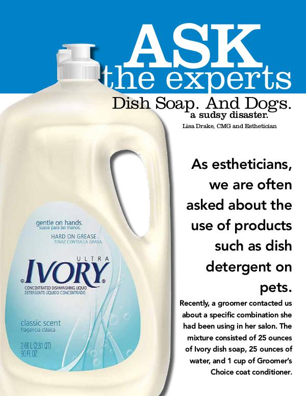 Dish Soap. And Dogs.