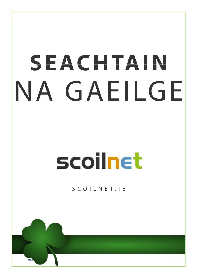Seachtain na Gaeilge - Gníomhartha don Meanscoil