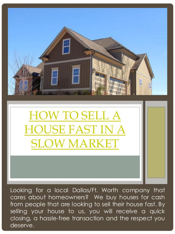 how to sell a house fast in a slow market how to sell a house fast in a slow market