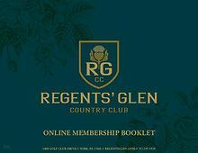 Regents' Glen Membership Packet