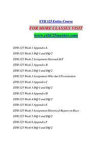 ETH 125 MENTOR Extraordinary Life/eth125mentor.com