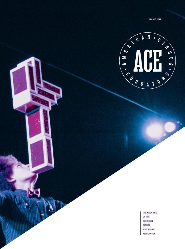 American Circus Educators Magazine Spring 2015 (Issue 1, Vol 3)