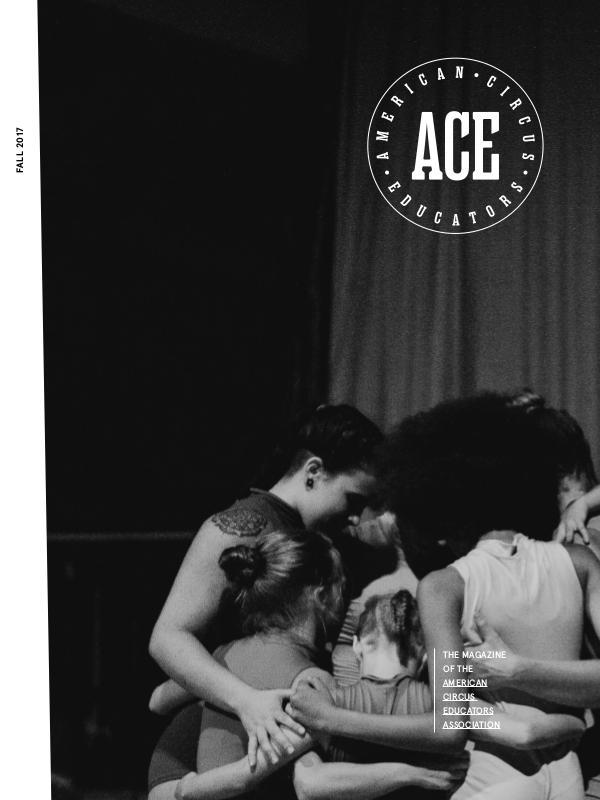 American Circus Educators Magazine Fall 2017 (Issue 2, Volume 10)