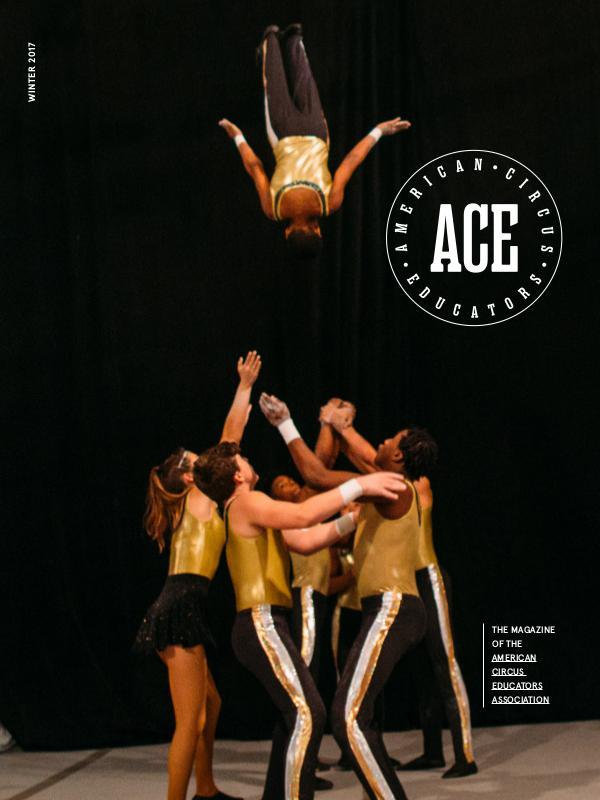 American Circus Educators Magazine Winter 2017 (Issue 3, Volume 11)