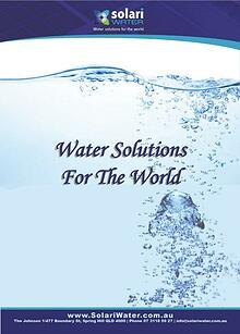 Solari Water Catalogue