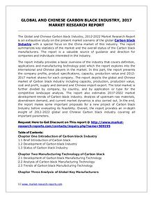 Global Carbon black Industry Forecast Study 2012-2022