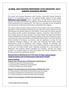 Mefenamic Acid Market Trends and 2022 Forecasts for Manufacturers
