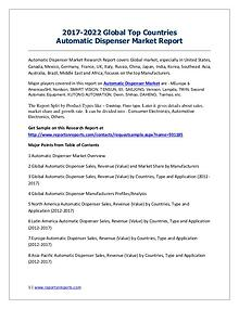 2017-2022 Global Top Countries Electronic commerce Market Report