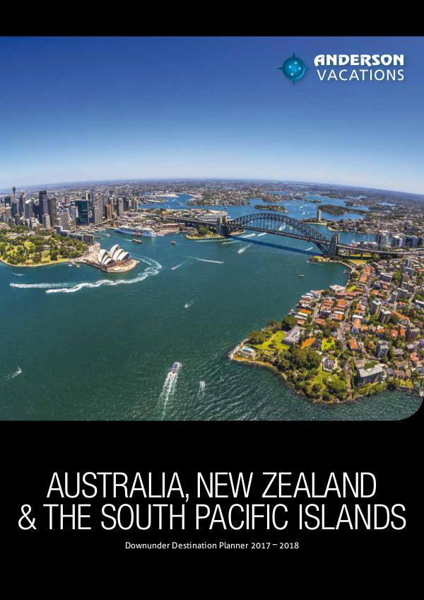 Australia, New Zealand and South Pacific Islands Destination Planner 2017
