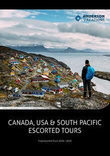 Fully Escorted Travel Brochure 2018
