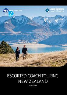 Grand Pacific Tours Travel Brochure