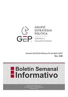 Boletín Semanal 330