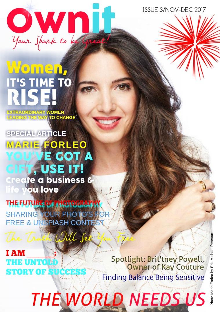 Ownit Magazine #3 - NOV-DEC 2017