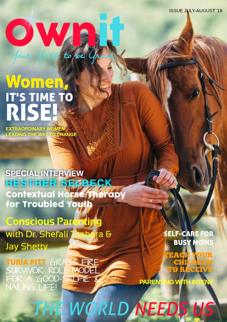 Ownit Magazine #JULY-AUGUST 2018
