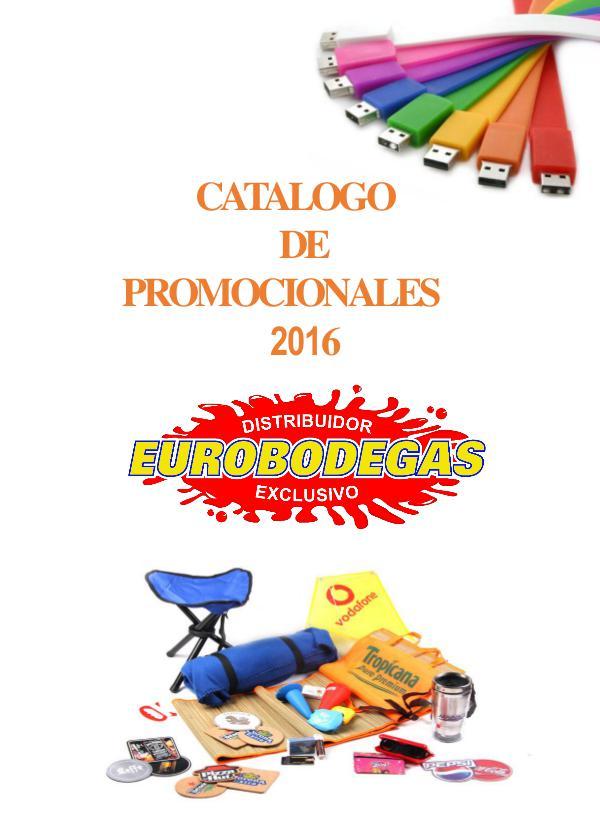 Catalogo Promocionales Genérico Cátalogo Promocionales Genéricos Eurobodegas