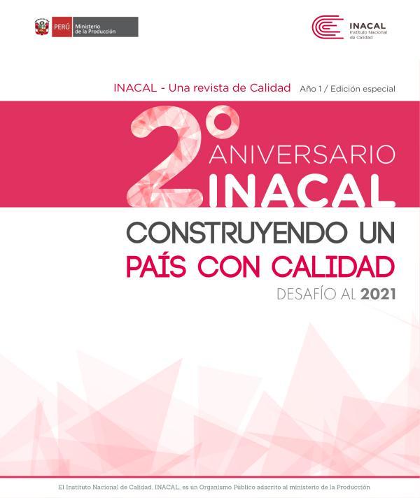 Revista INACAL Edición de Aniversario