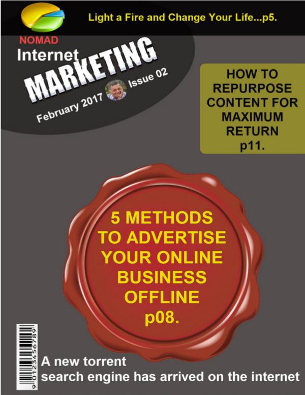 Nomad Internet Marketing Magazine February 2017 Issue 02 Issue 02