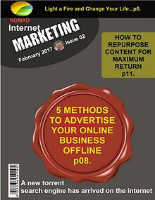 Nomad Internet Marketing Magazine February 2017 Issue 02