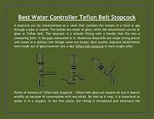 Best Water Controller Teflon Belt Stopcock