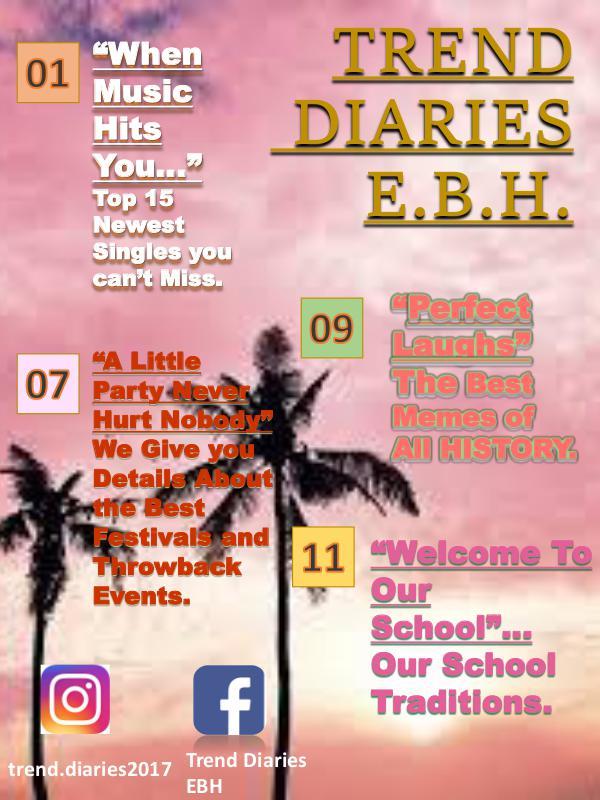 Trend Diaries Trend Diaries
