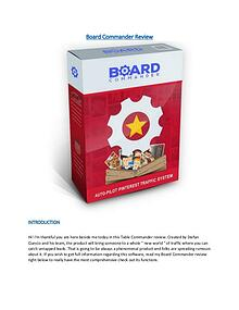 Board Commander Review