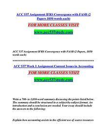 ACC 537 MART Invent Yourself/acc537mart.com