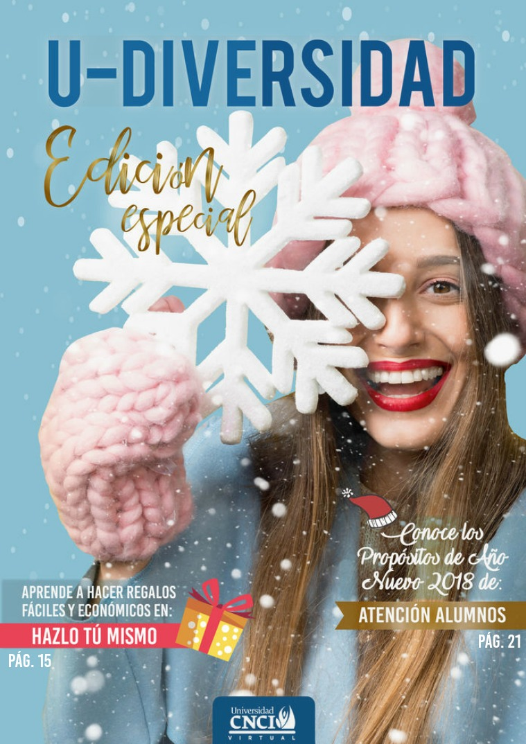 U-diversidad Edición especial diciembre 2017