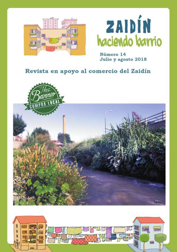 Zaidín Haciendo Barrio revista 14 julio agosto 2018