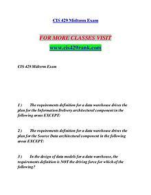 CIS 429 RANK Education is Power/cis429rank.com