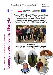 Teenagers pro Healthy Lifestyle - newsletter