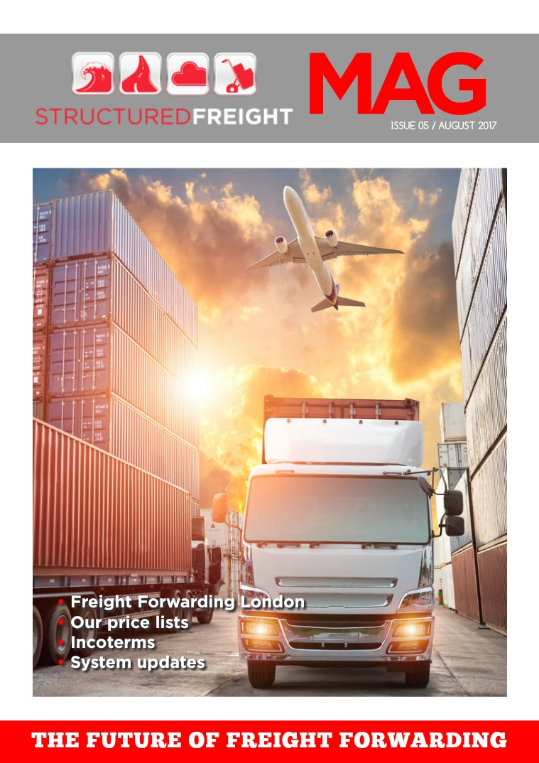 Structured Freight Magazine Issue 05 / August 2017