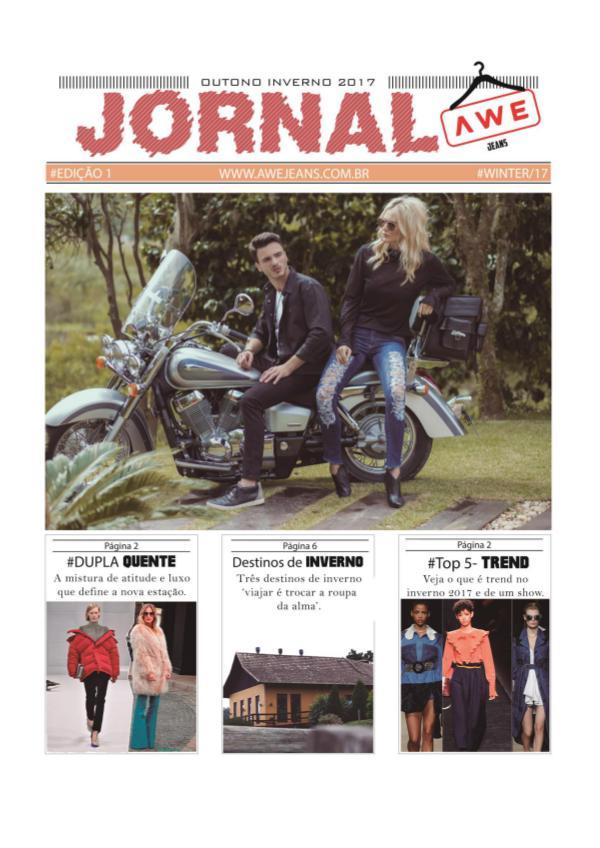 Jornal AWE jeans Edição 1