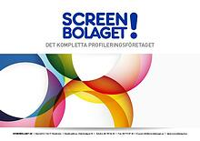 Screenbolaget produktbroschyr