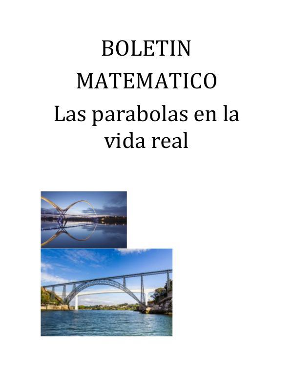 Boletin Matematico 1
