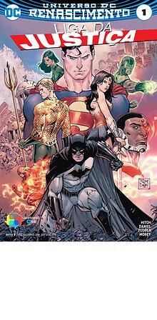 Liga da Justiça (2016) Edição01