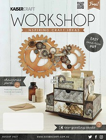 Kaisercraft August 2017 Workshop