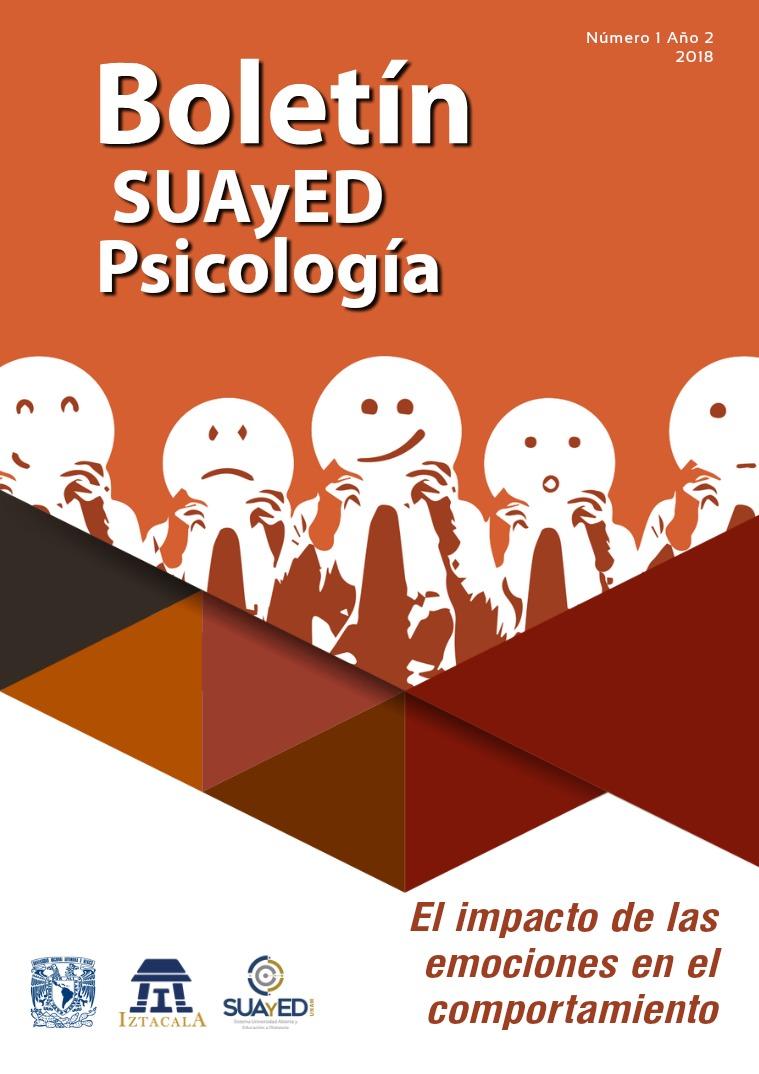 Boletín SUAyED Psicología - La expresión de las emociones, un análisis desde l