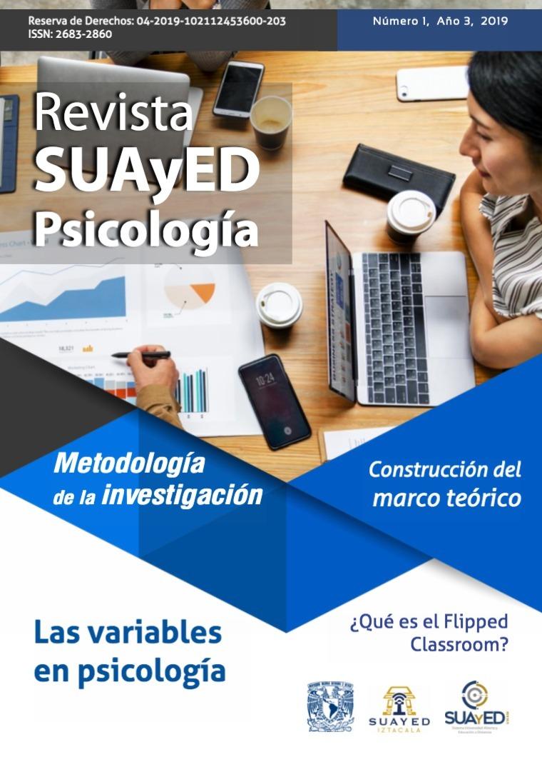 Boletín SUAyED Psicología marzo-abril Noviembre 2018