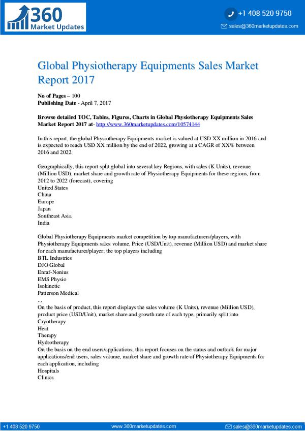 Report- Global-Physiotherapy-Equipments-Sales-Mar