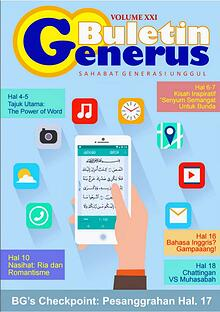 Buletin Generus Volume 21