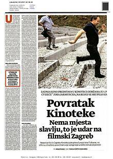Udar na filmski Zagreb