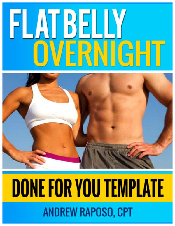 Flat Belly Overnight Trick PDF By Andrew Raposo Free Download Book Flat Belly Overnight Book