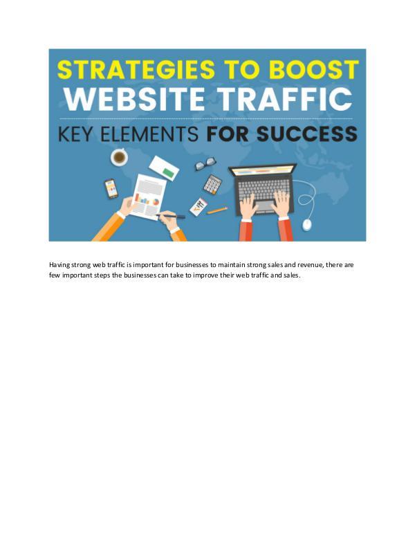 Strategies to Boost Website traffic Key Elements for Boosting Web Traffic