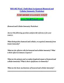 BIO 402 STUDY RANK Invent Yourself/bi0402study.com