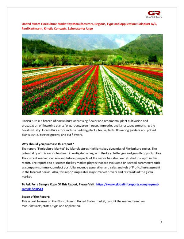 United States Floriculture Market by Manufacturers
