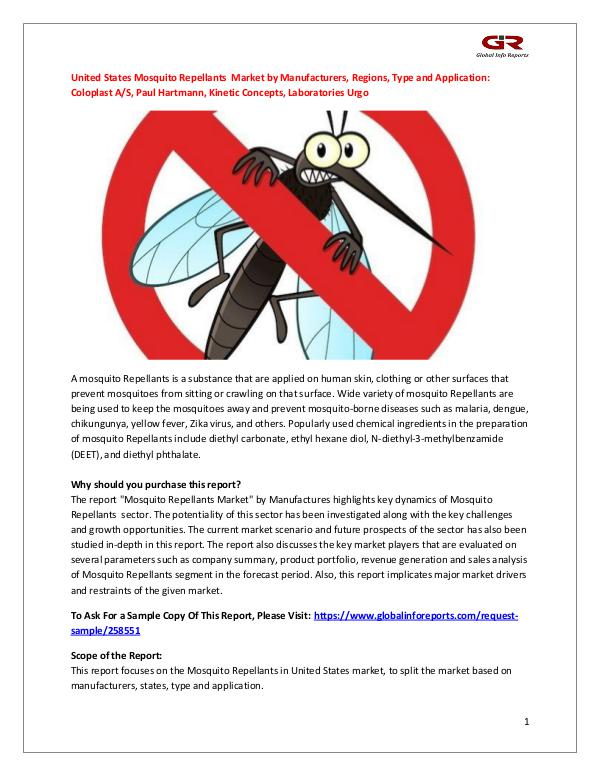 United States Mosquito Repellants  Market by Manuf