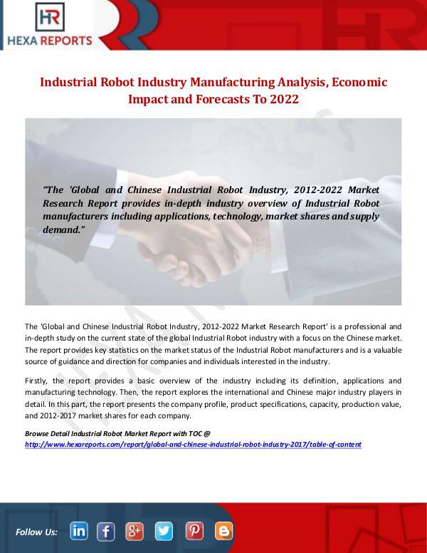 Industrial Robot Industry